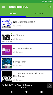 Dance Radio UK - náhled