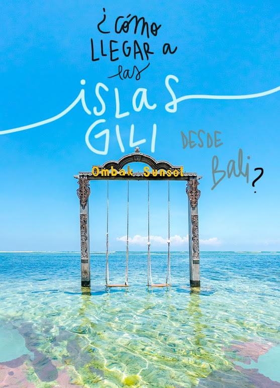 como llegar a las islas Gili