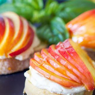 Peach and Honey Mascarpone Toasties Recipe