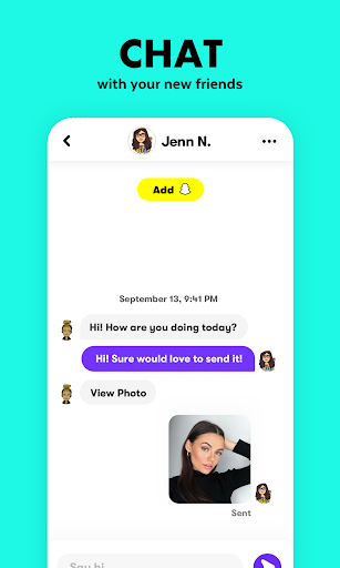 Wink - find & make new snapchat friends 1.4.2 screenshots 5