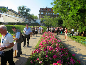 Photo: #eden14 Welcome Reception in the #eden14 Welcome Cocktail in the Botanical Garden 3 Photo by SRCE