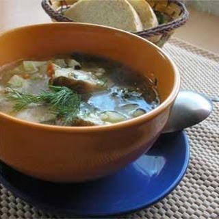 Russian Hake Soup
