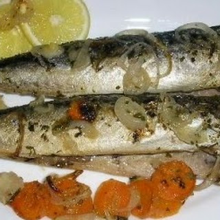 Mackerel In White Wine