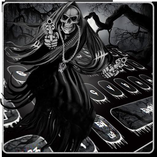 Hell Devil Death Skull Keyboard Theme