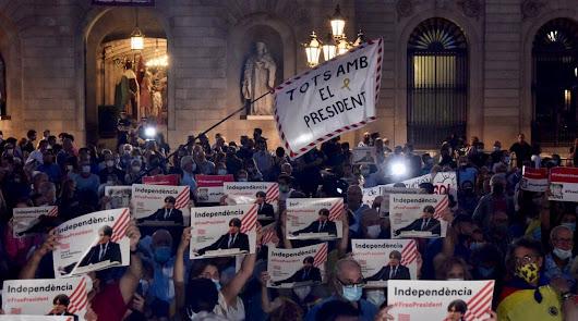 Puigdemont, mirando a España