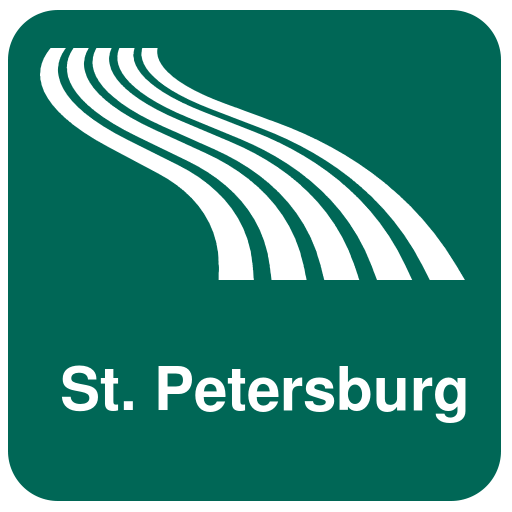 St. Petersburg Map offline file APK for Gaming PC/PS3/PS4 Smart TV