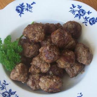 Jen's Swedish Meatballs