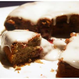 Vanilla and Berry Cake.