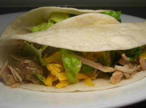 "Tequila Lime Pork Tacos ""My whole family loves this! It's an easy..."
