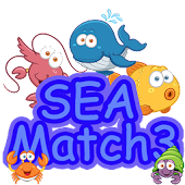Sea Animal Match 3 game