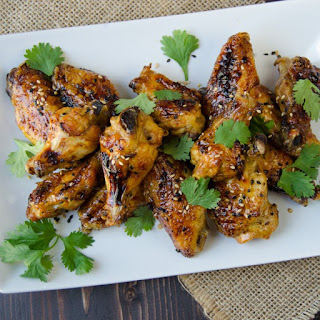 Sticky Asian Wings