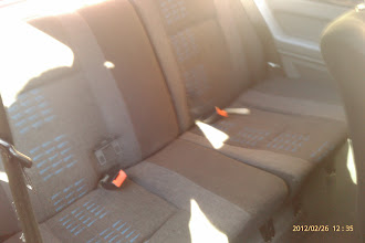 Photo: Raider Rear Seats fitted