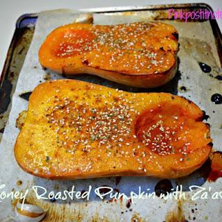 Honey Roasted Pumpkin with Za'atar