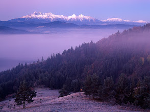 Photo: My most favorite spot to photograph is High Tatras near where I was born. The small but splendid mountains that I'm spending relatively plenty of time in but I have to say that with very few exceptions, it has yet been difficult to make an image I would be satisfied with. I know though that it will come one day – I just have to be patient and bring some more dedication. Up to now, I was slightly more successful when shooting Tatras from a foothill, which is actually how I used to see them when I was growing up.  Have a great Sunday, everybody!