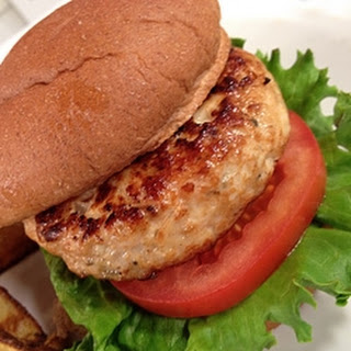 RecipeItalian Ranch Turkey Burger.