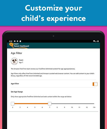 Amazon FreeTime Unlimited: Kids Shows, Games, More 2.0.0.203376 screenshots 15