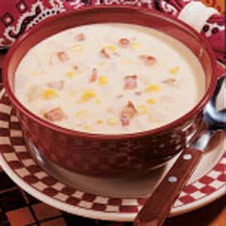 Bacon Corn Soup.