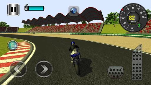 高速バイクドライバー