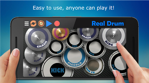 Real Drum - The Best Drum Pads Simulator Screenshot