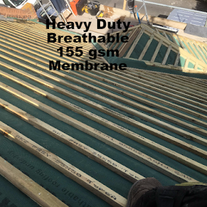 Heavy Duty Breathable Membrane | Margate | First Class Rooflines