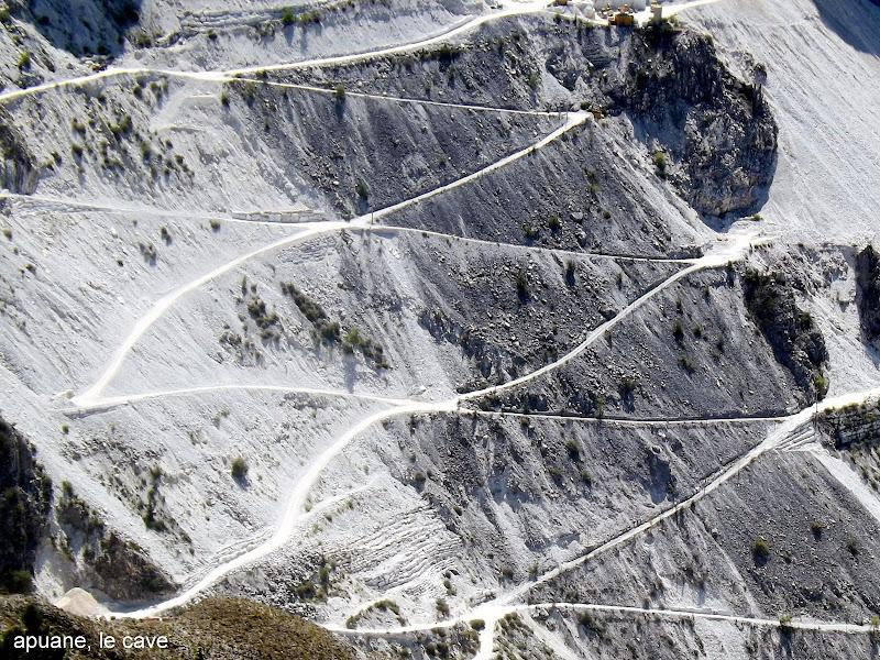 geometrie di sentieri in montagna di pilotto