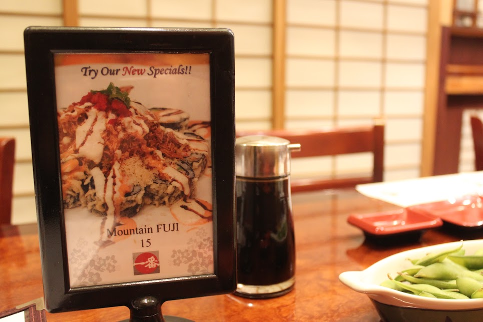 Mountain Fuji Special at Ichiban Fish House