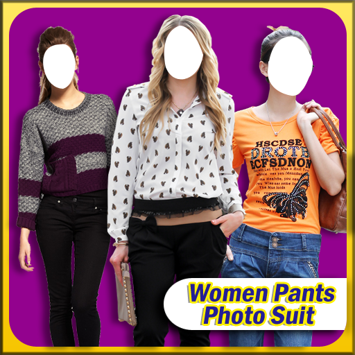 Women Pants Photo Suit 攝影 LOGO-玩APPs