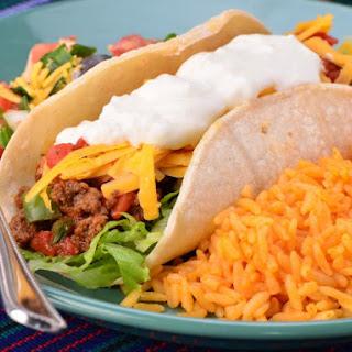 Soft Beef Tacos.