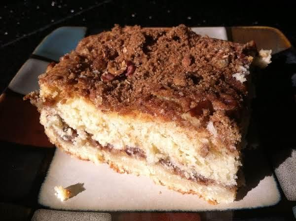Mom's Sour Cream Coffee Cake