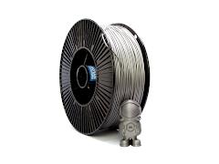 Silver NylonG Glass Fiber Filament - 1.75mm (3kg)