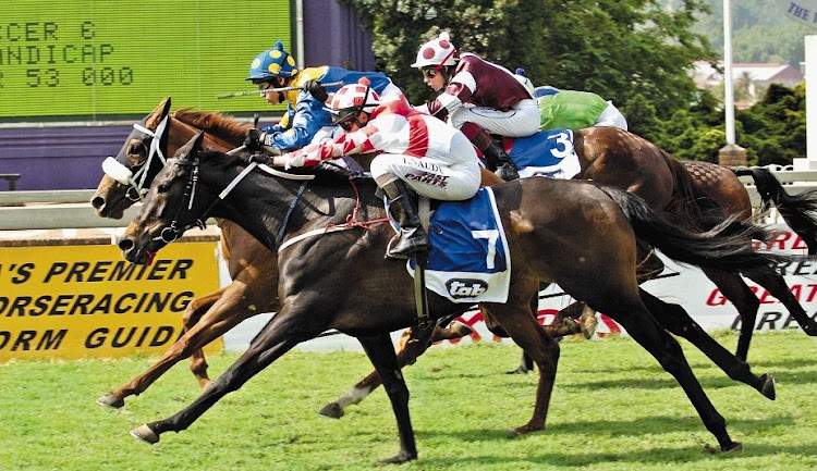 Horse Racing at Turfontein. Picture: RUSSELL ROBERTS