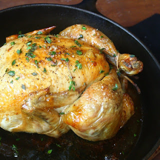 Thomas Keller's famous simple roast chicken