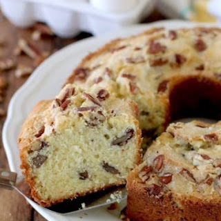 Southern Pecan Pound Cake.