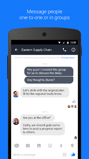 Workplace Chat by Facebook
