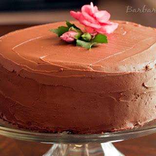 Hershey's Perfectly Chocolate Chocolate Cake and Perfectly Chocolate Chocolate Frosting.