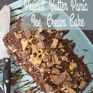 Blue Bunny Peanut Butter Panic Chocolate Ice Cream Cake