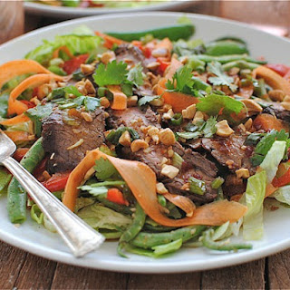 Grilled Asian Steak Salad
