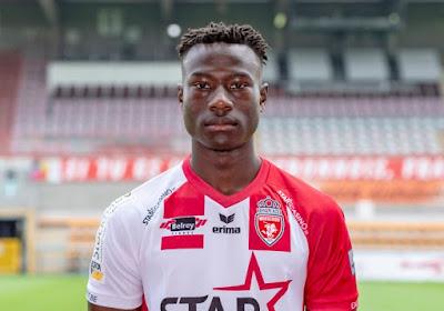 """Le tout premier but de la carrière de Babacar Dione: """"Encore plus spécial contre Zulte"""""""
