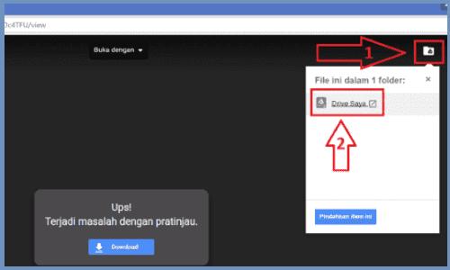 tải xuống Google Drive khi bị giới hạn lượt download 3