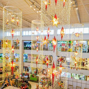 Christmas Decors by Jurich Bitco - Public Holidays Christmas ( christmas lights, stars, christmas, lights )