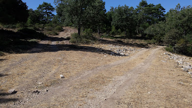 Photo: Paisajes del recorrido al pozo de la Bomba.