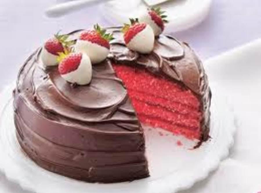 Chocolate Strawberry Jello Cake Recipe: Chocolatecovered Strawberry Cake Recipe