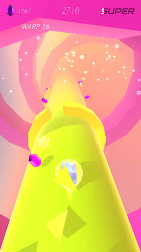Warp and Roll - running flight action game 1.1.7 screenshots 24
