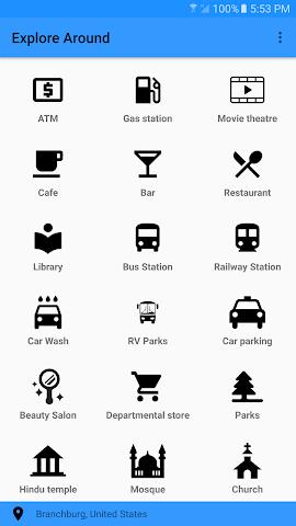 android Explore Around Screenshot 0