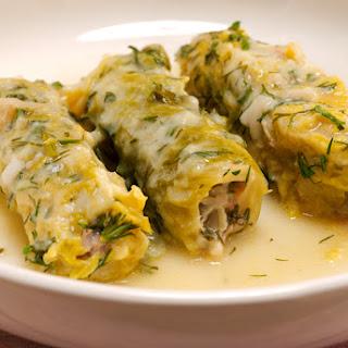 Greek Stuffed Cabbage Rolls (Lahanodolmades).