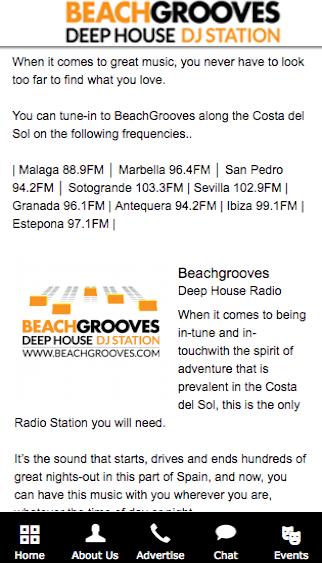 Beach Radio Stations- screenshot