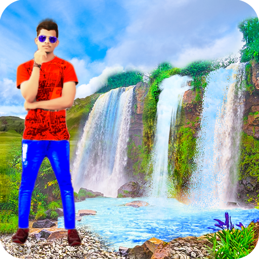 Waterfall Photo Frames - Waterfall Photo Editor icon