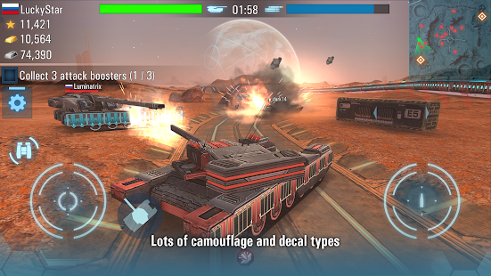 Future Tanks: Free Multiplayer Tank Shooting Games- screenshot thumbnail