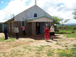 Photo: Maasai Lutheran Church in the Kenyan countryside