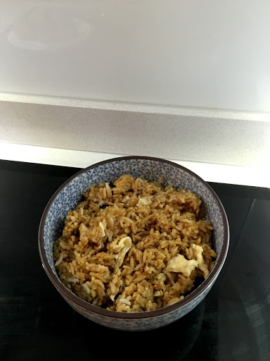 47. Egg Fried Rice (Vegetarian)